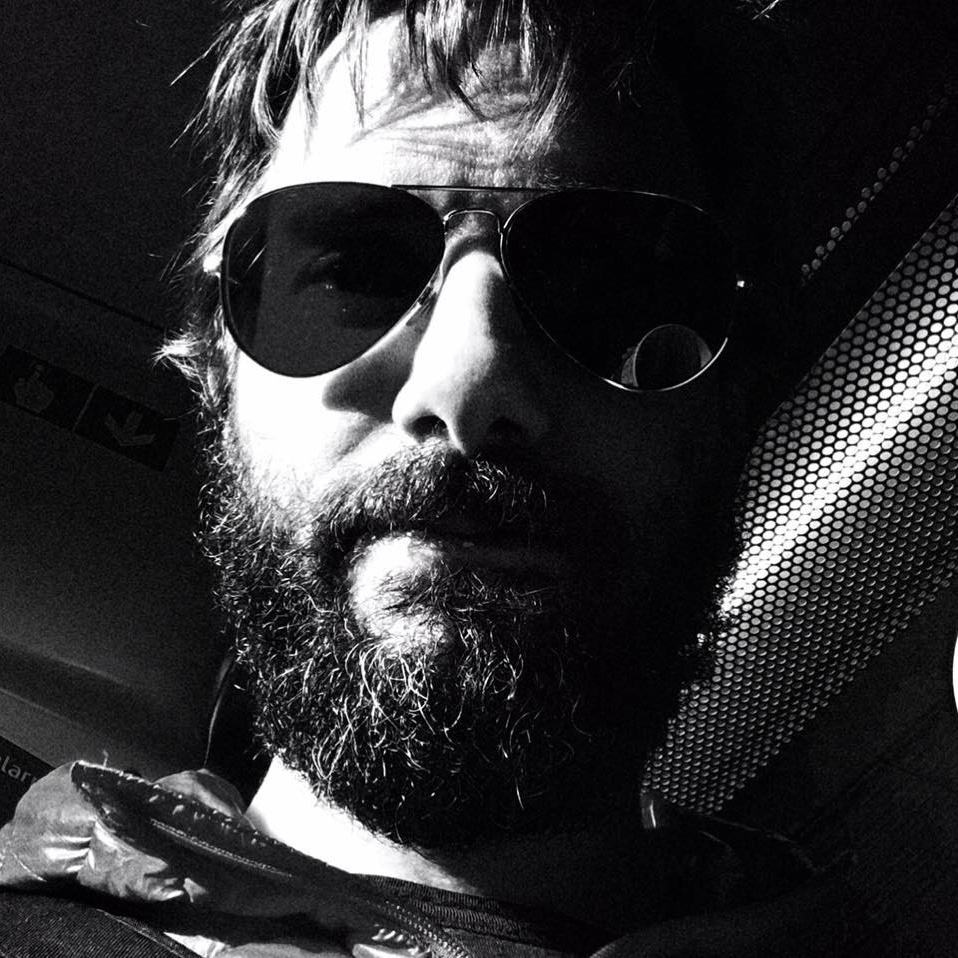 Bearded Ben with shades